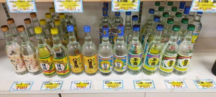 沖縄八重山の泡盛各種