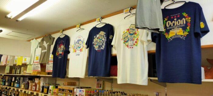 ちいさなみやげ屋 内原2号店 Tシャツコーナー